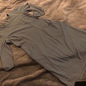 J McLaughlin Black & White Jersey Dress